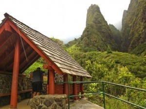 Rain Shelter And Iao Needle