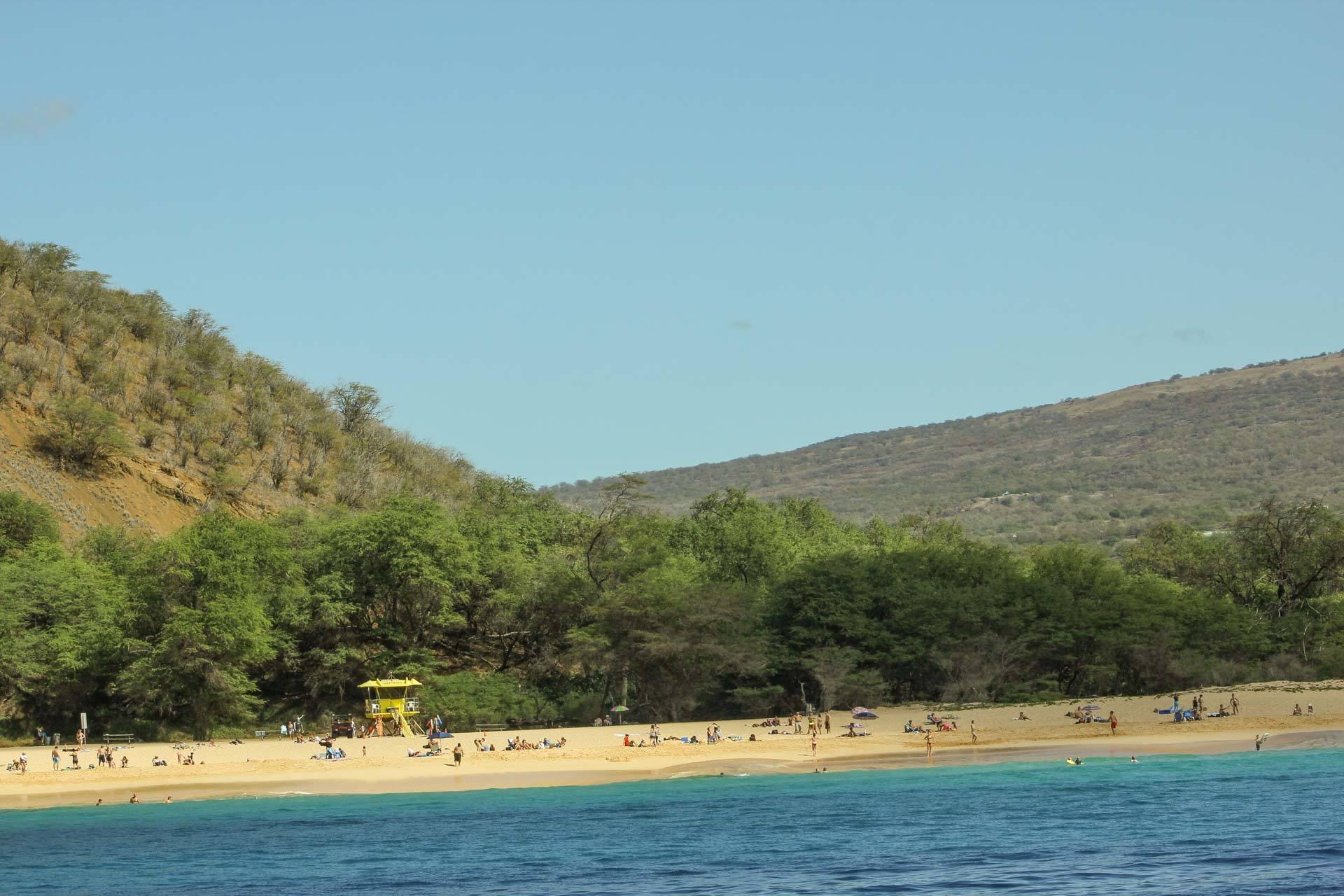 big beach maui at makena