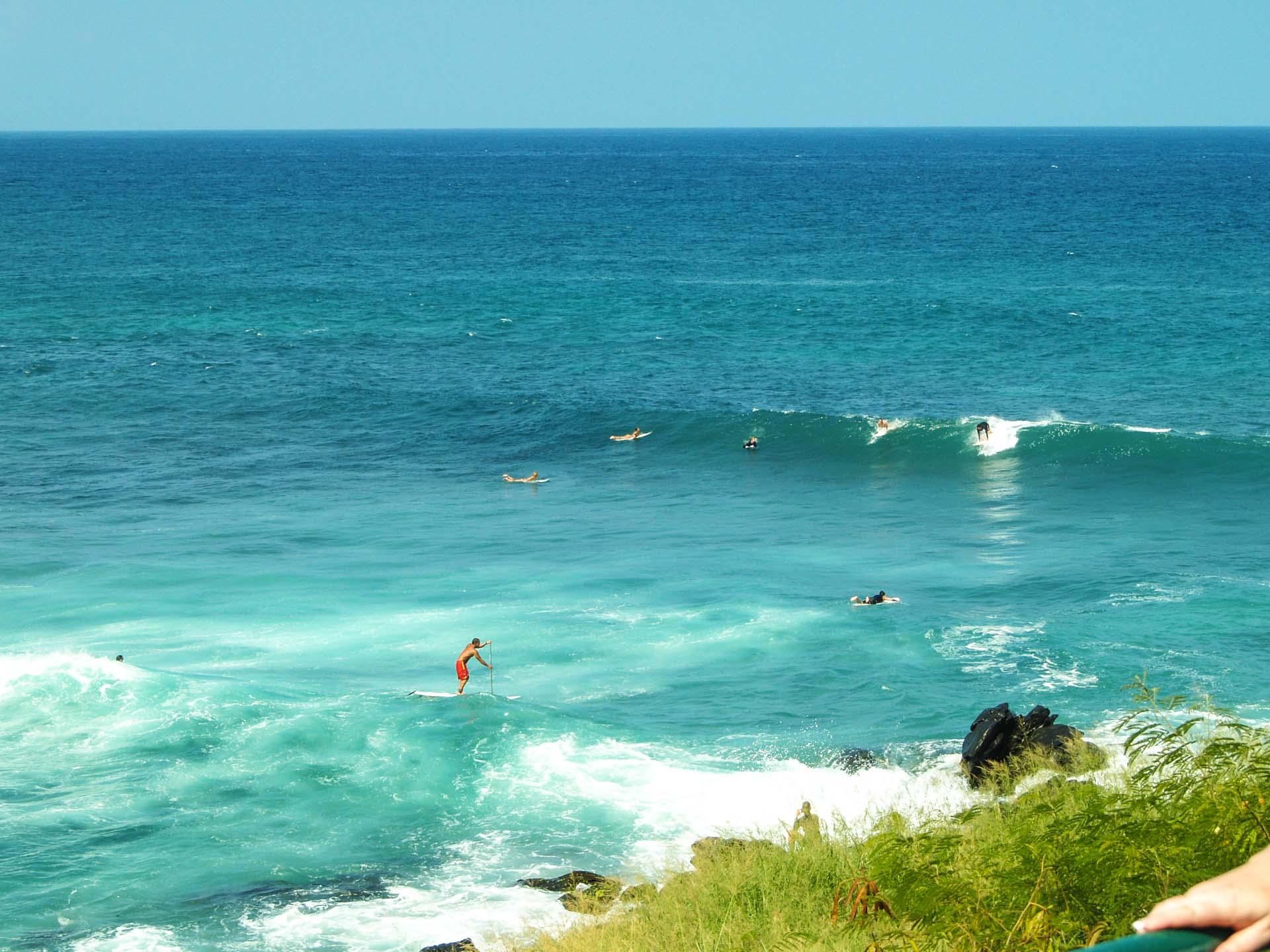 Catching Waves At Hookipa