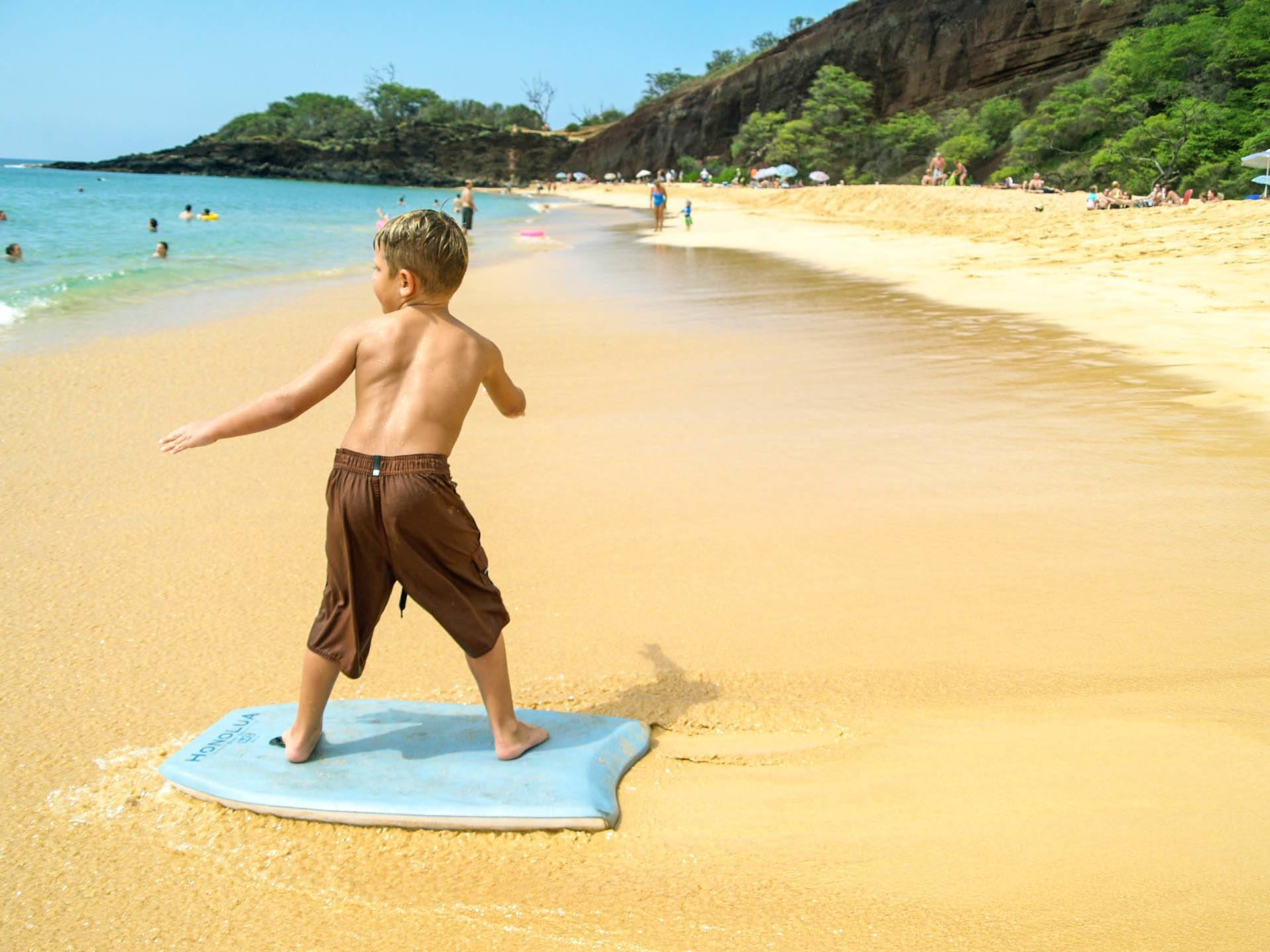 Child Play Beach Makena