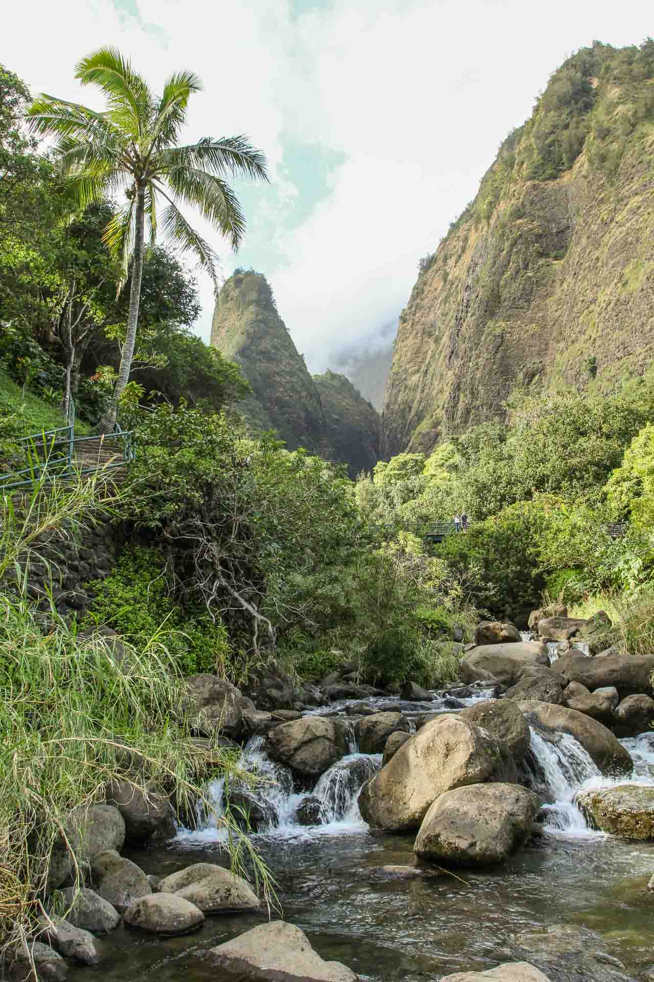 iao needle and stream
